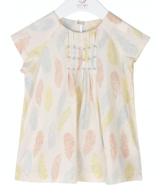 Bilde av kjole baby feather sand