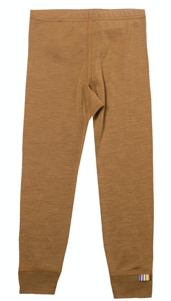 Bilde av leggings ull/silke cinnamon