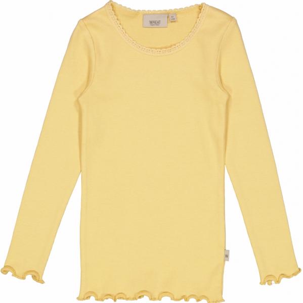 Bilde av genser rib lace sahara sun