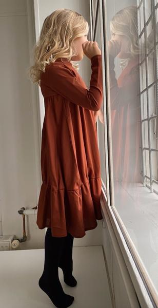 Bilde av Kjole ly vinter red wood