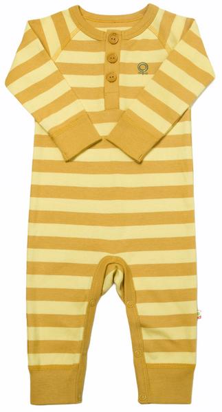 Bilde av heldress øko gul striper
