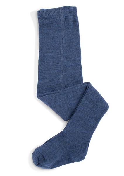 Bilde av Ullstrømpebukse blå