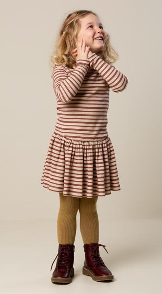 Bilde av Kjole deanie wine stripe