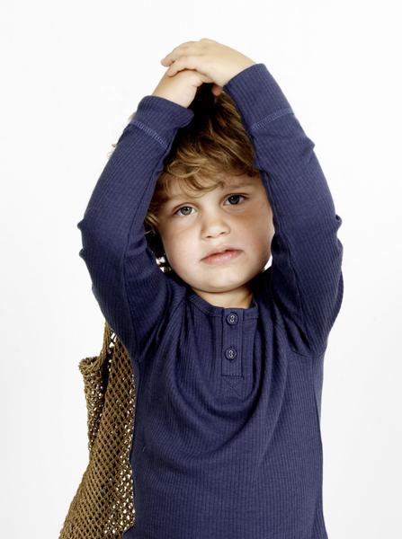 Bilde av genser modal blue