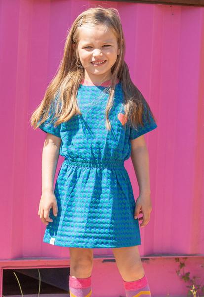 Bilde av kjole kaya snorkel blue