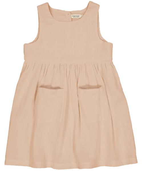 Bilde av kjole duna muslin rose sand